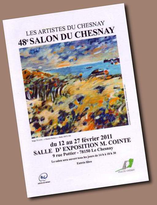 Affiche Salon du Chesnay